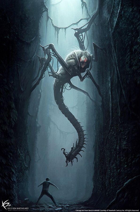 ArtStation - The Maze Runner - Creature Designs & Concept Arts, Ken Barthelmey