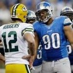 Detroit Lions vs. Green Bay Packers Key Matchups - http://jerseyal.com/GBP/2012/12/09/detroit-lions-vs-green-bay-packers-key-matchups/ http://jerseyal.com/GBP/wp-content/uploads/2012/12/Rodgers-Suh-150x150.jpg