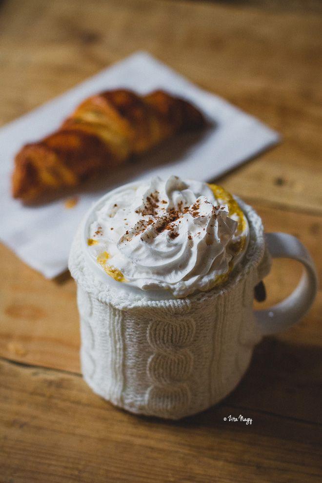 Zizikalandjai: Vegán sütőtökös latte