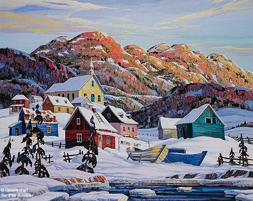 Vladimir Horik, 'Entre fleuve et montagnes', print/reproduction | Galerie d'art - Au P'tit Bonheur - Art Gallery