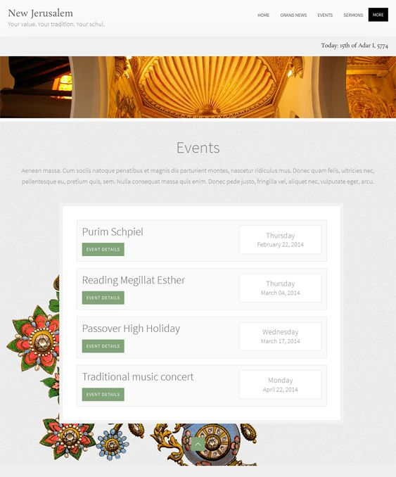 13 best more of the best church wordpress themes images on pinterest
