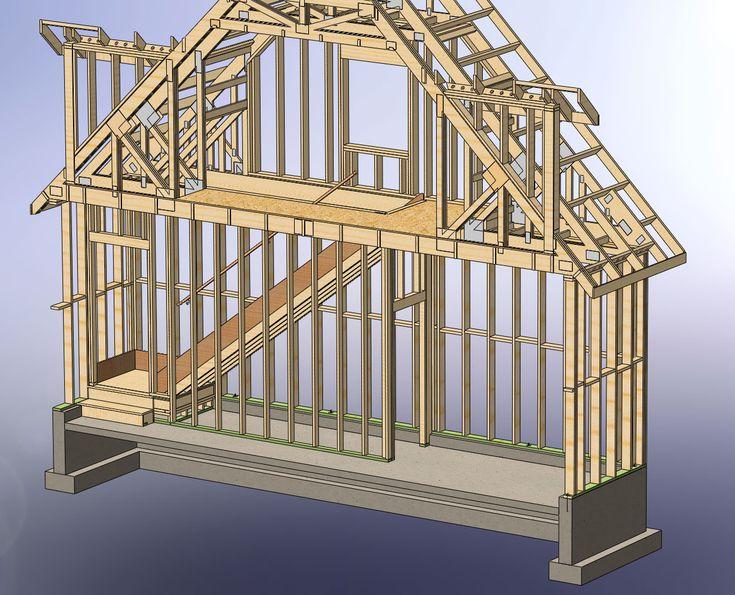 114 best gable dormer images on pinterest attic spaces for Garage dormer