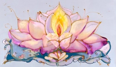 Lotus Flame - want to get a not so typical lotus flower with winding roots spanning the ten worlds.