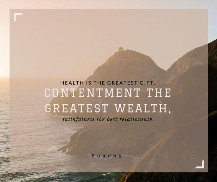 Health is the greatest gift, contentment the greatest wealth, faithfulness the best realtionships - Buddha #SundayMotivationals #WillowsKitchens