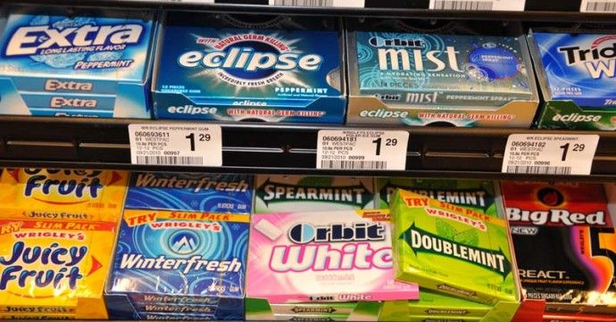 14 COMMON gum ingredients that are worse than chewing tobacco
