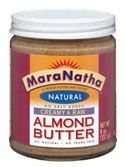 Almond Butter instead of peanut butter