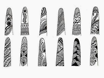 Mehndi Designs In Fingers : Best finger still images henna mehndi mehendi