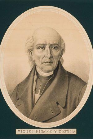 Retrato de Miguel Hidalgo y Costilla Atribuido a L. Delgado Siglo XIX Óleo sobre tela 99 x 77 x 5 cm. Colección Museo de Historia Mexicana