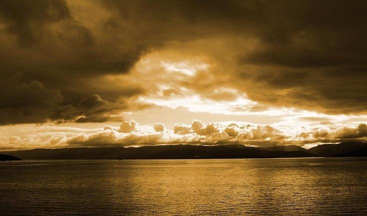Kirkwall Harbour Sunset, Orkney