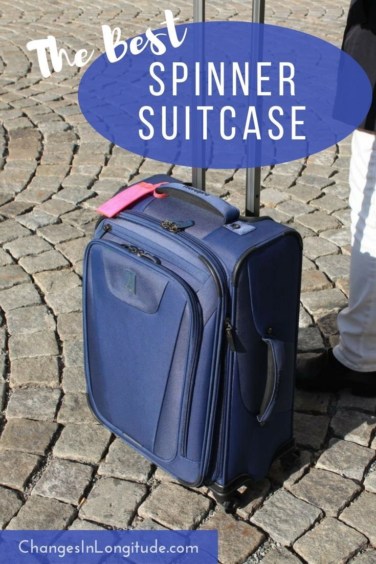 As full-time nomads we need rock-solid luggage. This TravelPro bag was a winner for several reasons--read our field-tested review|Best spinner luggage|spinner suitcase review|TravelPro luggage spinners|TravelPro Maxlite luggage|luggage review