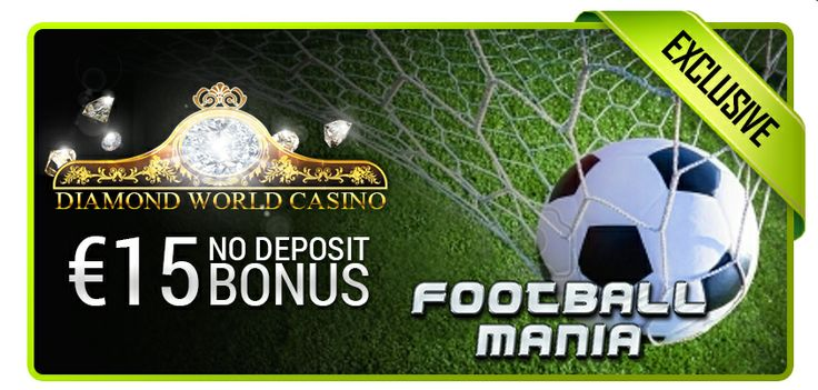 Get a €15 No Deposit Bonus at Diamond World Casino to play all the great games, including Football Mania, just in time for World Cup! Get the code at: http://bit.ly/1j5M5je