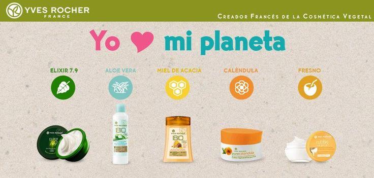 Ingredientes orgánicos amables con tu piel y con la naturaleza