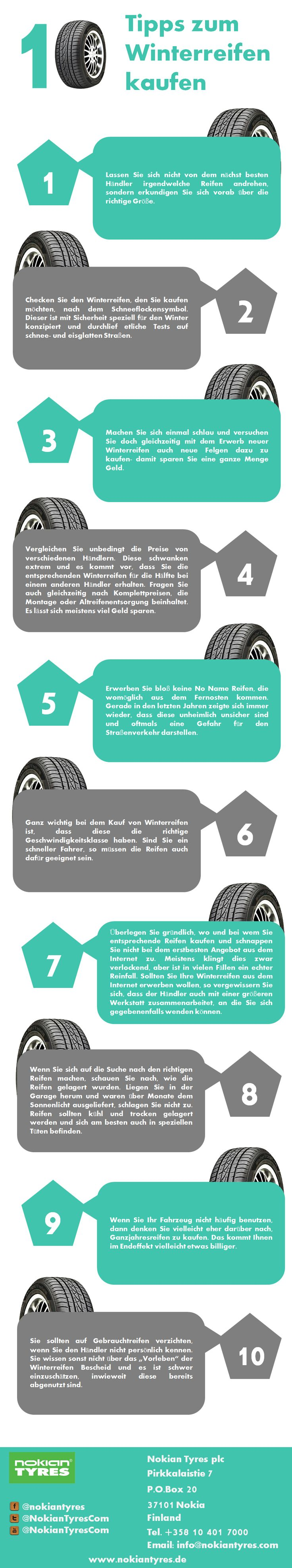 Lassen Sie sich nicht von dem nächst besten Händler irgendwelche Reifen andrehen, sondern erkundigen Sie sich vorab über die richtige Größe.    #reifen