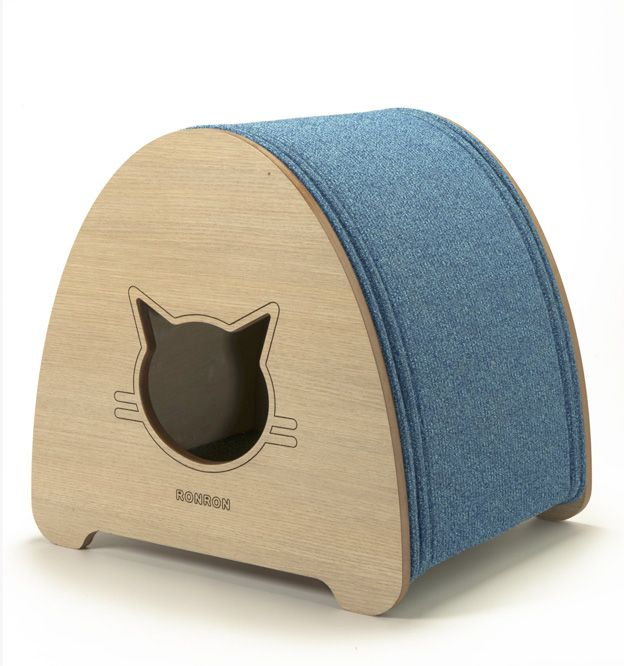 how to make a cat cave bed