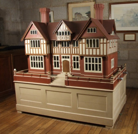 This 1906 doll's house boasts running water and electricity and was designed for Mary Drewe by an estate carpenter at Wadhurst Hall.