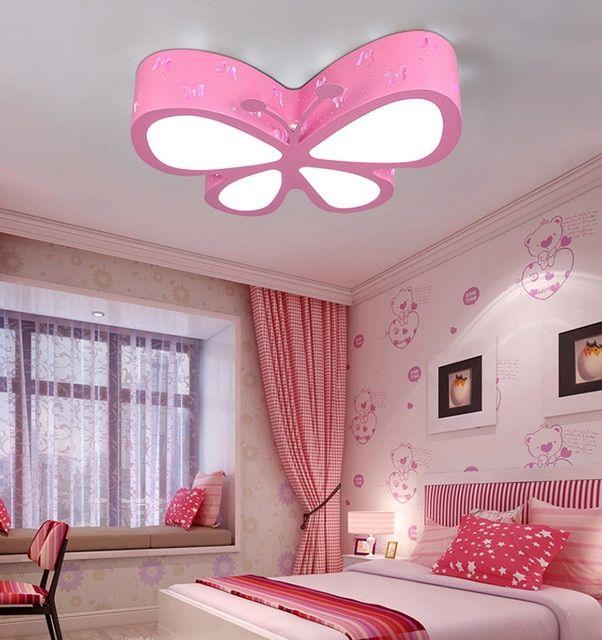 Butterfly Ceiling Light Pendant Lighting Bedroom Ceiling Lights Cute Bedroom Decor