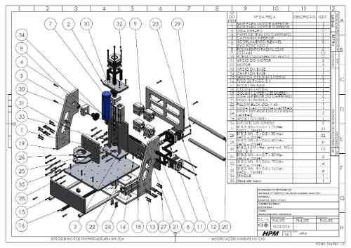 Projetos Cnc Hpm Com 1 Projeto De Router E 3 De Torno Cnc