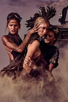 Originale Desert Dirt Shooting - Germany's next Topmodel 2017