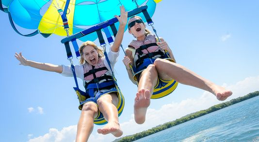 Fun activities to do while on Wave Break Island as part of the Gold Coast Island Adventure Cruise http://ticketsandtours.com.au/travel/gold-coast-adventures/