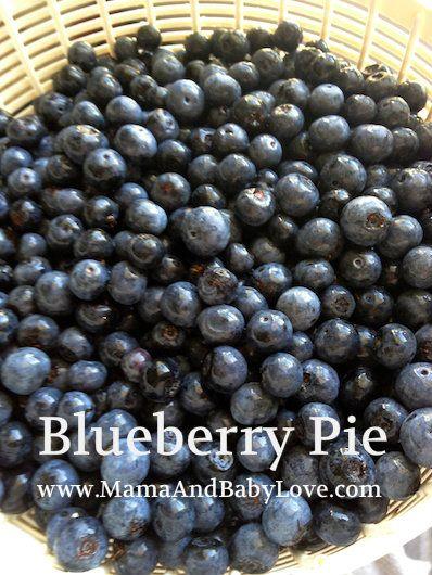 very yummy blueberry pie recipe. #blueberryrecipes