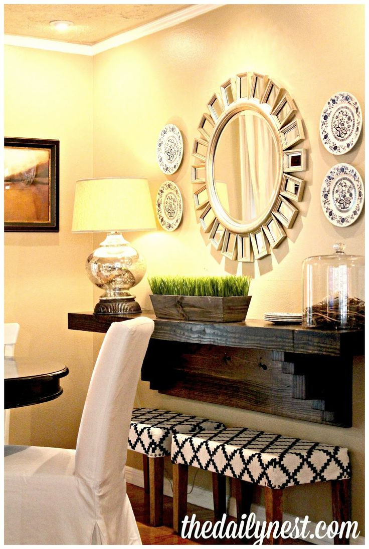 Love This Ledge In The Dining Room