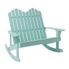 Bloomingville rocking bench mint