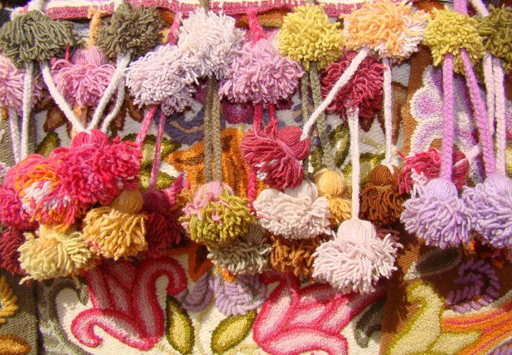 Peruvian embroidery at the Santa Fe International Folk Art Market