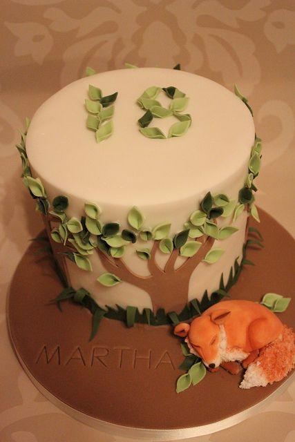 Fox Cake. by Dulcie Blue Bakery, via Flickr