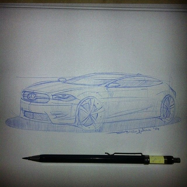 Mercedes Concept designed by me