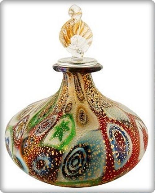 Murano cam parfüm şişesi