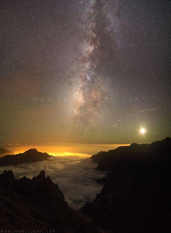"""The World at Night || Canary Islands, La Palma (Spain) by Fakrul Jamil Website || Facebook || Google+ """