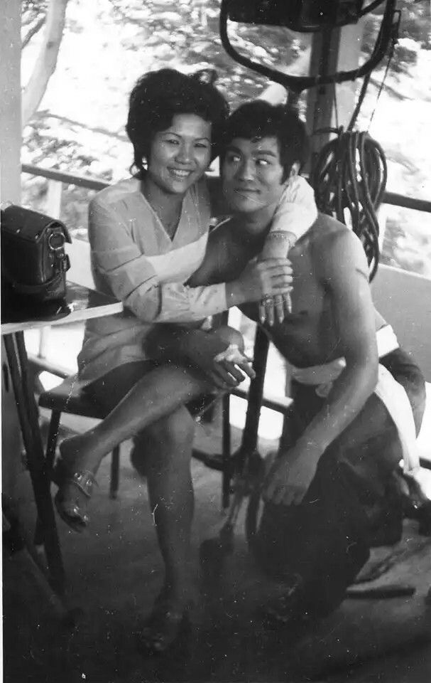Circa August of 1971. In Thailand. Extra with Bruce Lee.
