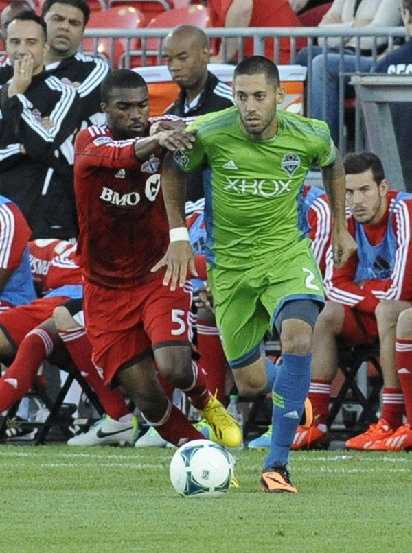 ~ Clint Dempsey on Seattle Sounders against Toronto FC ~