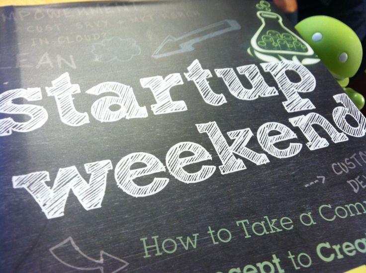 Asistir a un Startup weekend... ¡POR HACER!