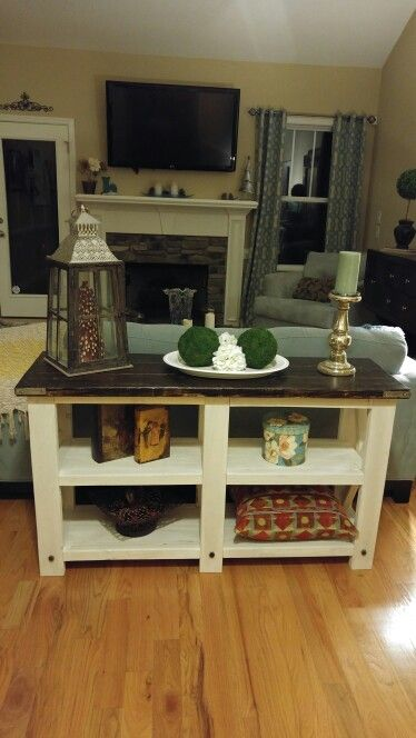 Console Table From Anna White