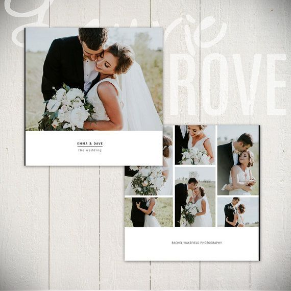 Wedding Album Template Black Tie 10x10 Wedding Book Etsy Wedding Album Layout Wedding Book Wedding Album Templates