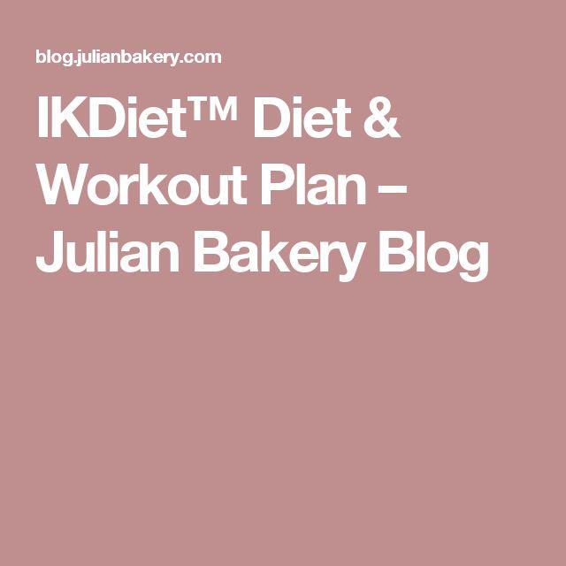 IKDiet™ Diet & Workout Plan – Julian Bakery Blog