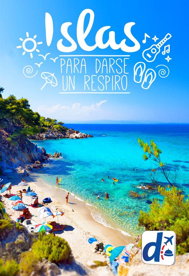 Descubrí cuales son las #islas más bellas del mundo, ¡ideales para darse un respiro! #trip #travel #viajar