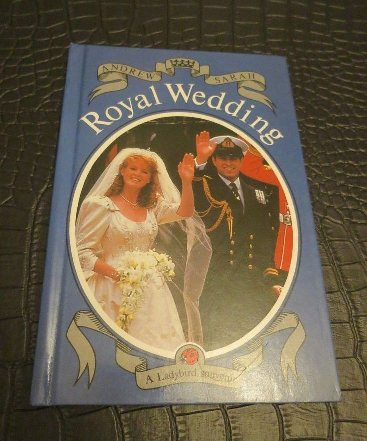 7VINTAGE LADYBIRD BOOK ROYAL WEDDING SOUVENIR ANDREW & SARAH 1986 75P NET