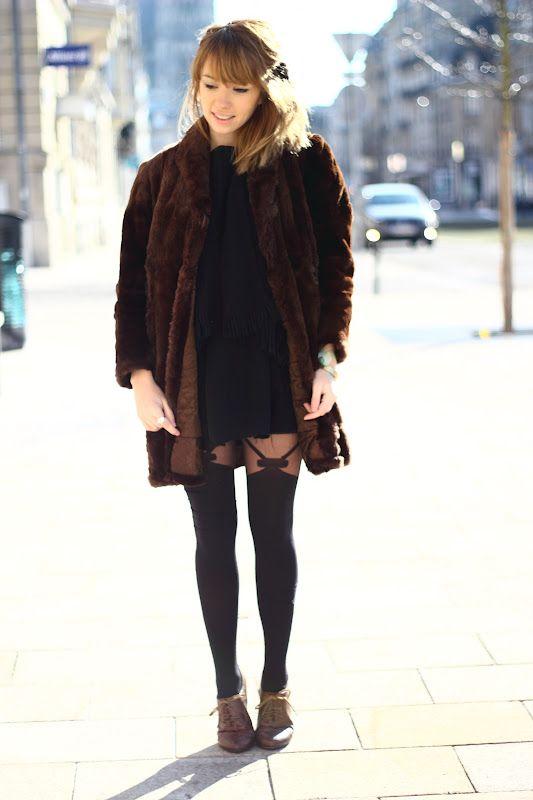 Collants motif porte-jarretelles – Fruity girl : Blog Mode Paris
