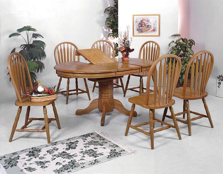 25+ Best Ideas About Oak Dining Room Set On Pinterest