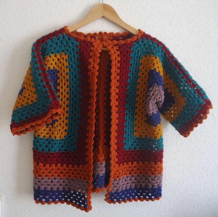 Tutorial crochet chaqueta ganchillo paso a paso en espa ol - Patrones de ganchillo ...