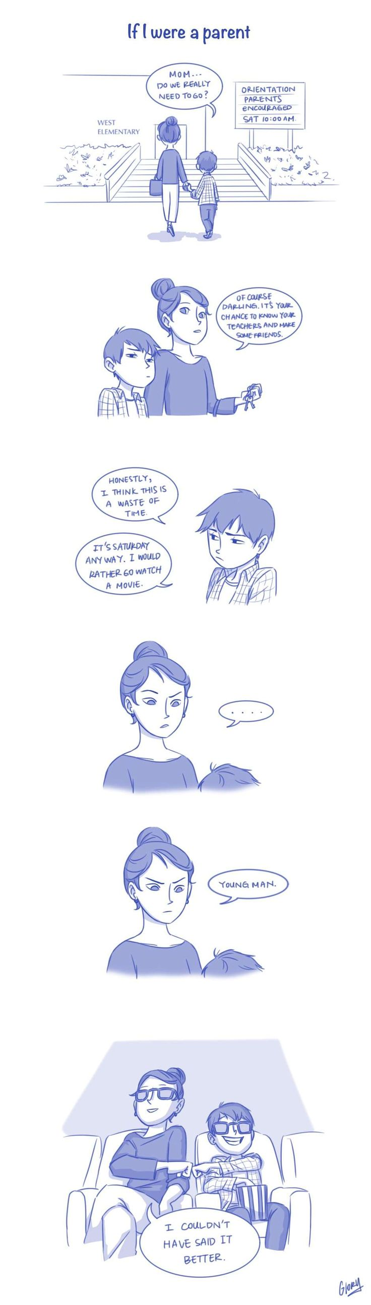 All This Doubt :: If I Were a Parent | Tapastic Comics - image 1
