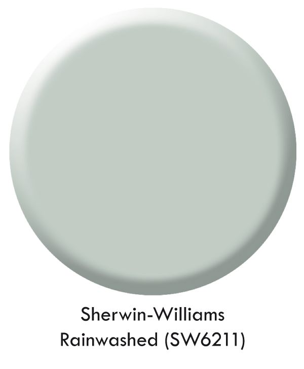 Paint SW Rainwashed is what I'm using in one of the bedrooms in the new house that may be the baby's room one day!