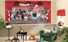 This kids wall mural can be personalized! Adorable jungle band! http://www.muralsforkids.com/products/Jungle-Jamboree-Band-Wall-Mural.html