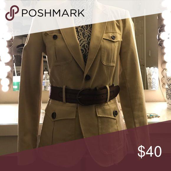 Zara safari jacket Never worn, exclusive to Zara Europe Zara Jackets & Coats Blazers