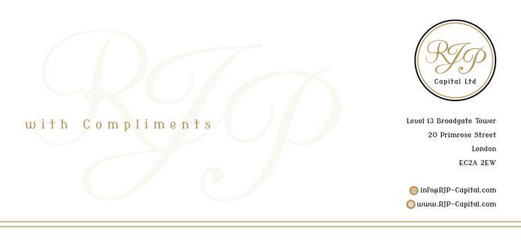 RJP Capital Ltd Compliment Slip Logos \/ Corporate Identities - compliment slip template