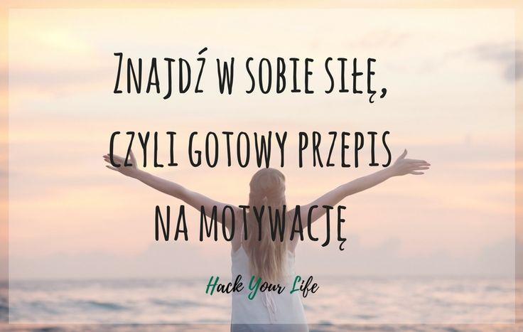 Bywają dni, kiedy o motywację jest naprawdę ciężko, dlatego mam dla Was małą ściągę! Sprawdźcie, jak poprawić sobie humor i znaleźć przepis na motywację!