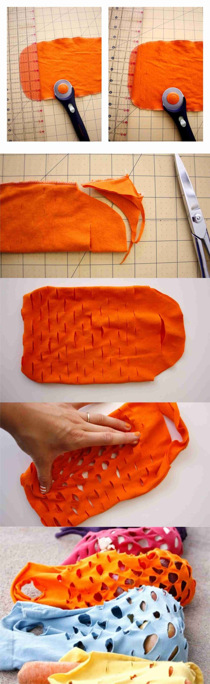 DIY Vegetable Bags... the site is in spanish, but you can get the take home message by checking out the pics ;)