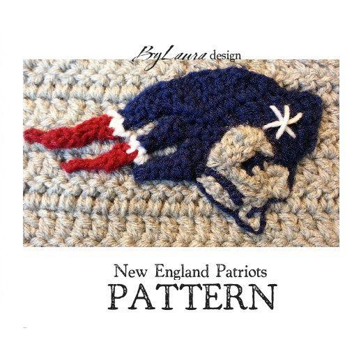 PATTERNNew England Patriots Emblem by HelmetHed on Etsy